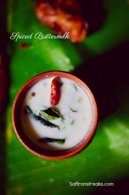 spiced buttermilk
