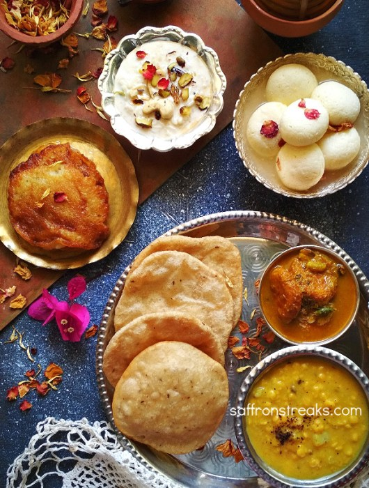 durga pujo rituals food menu