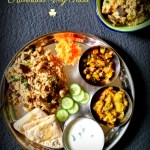 Karnataka Veg Thali {Kannadiga Oota} – South Indian Meal Series