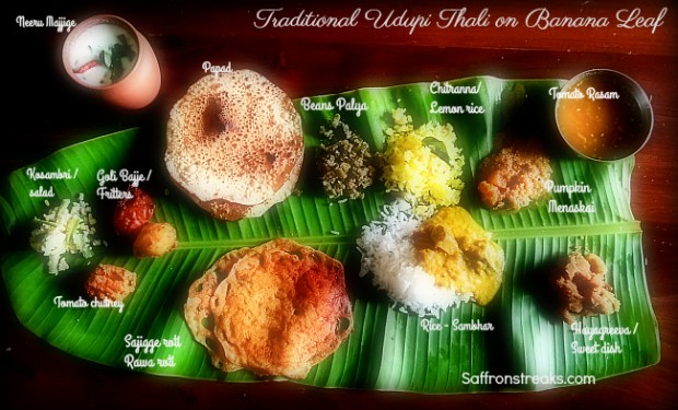 udupi thali south indian lunch