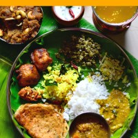 Udupi Veg / Sattvik Thali - South Indian Meal Series