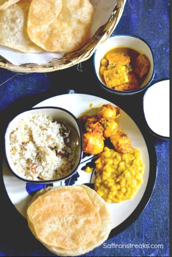 Durga pujo food menu