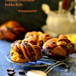 Whole Wheat Pumpkin Pie Spiced Chocolate Babka Rolls