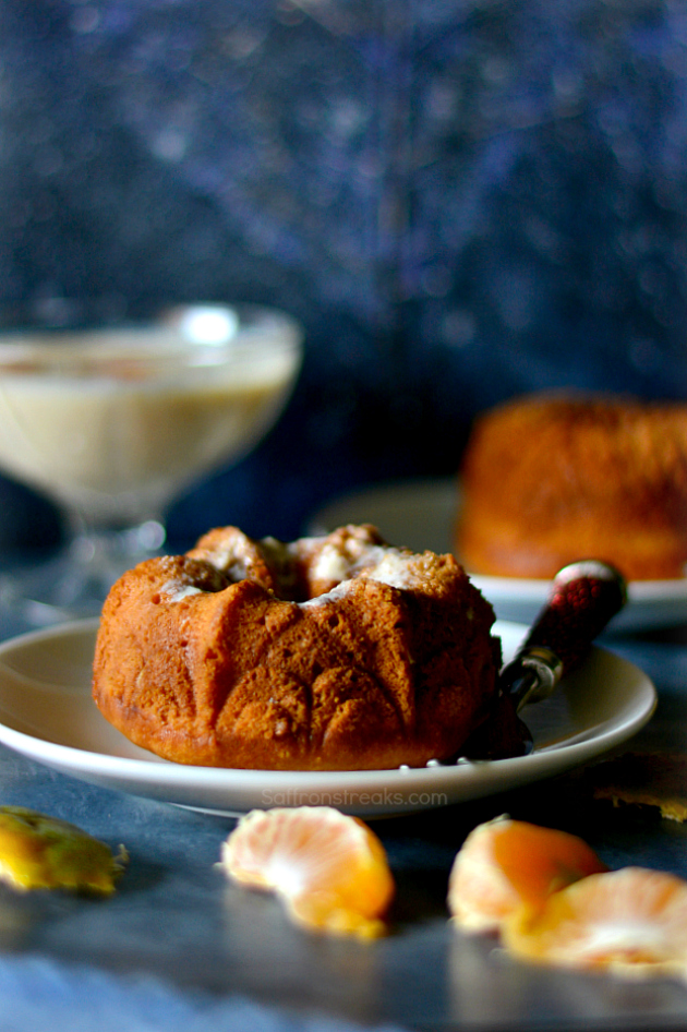 orange yogurt mini bundt cake recipe