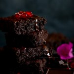 Vegan Dark Chocolate Beetroot Fudgy Brownies- {Gluten Free} Recipe