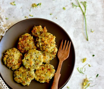Moringa flowers fritters