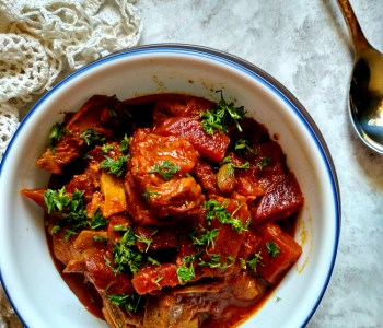 chukandar gosht mutton curry beetroot