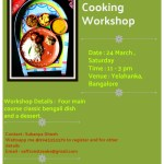{Event Announcement} – Bengali Vegan Cooking Workshop At Bangalore