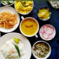 The Everyday Bengali Vegetarian Thali / Meals - Summer Special