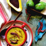 Bengali Tok Dal / Aam Dal / Soupy Green Mango Dal – A Hot Summer Favourite