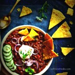 Indian Spiced Vegetarian / Vegan Mexican Red Kidney Bean Chili
