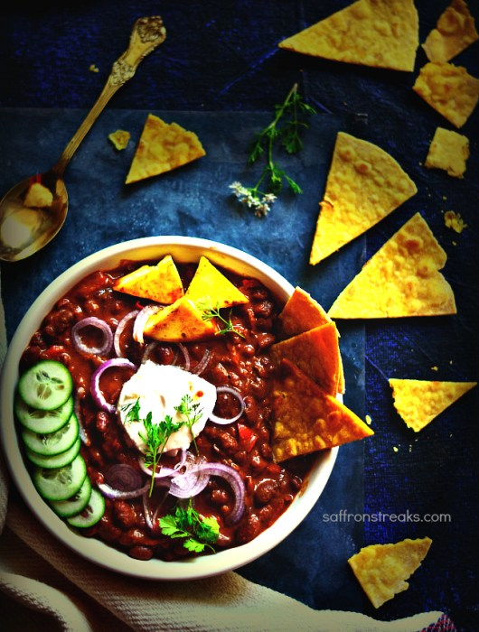 red kidney bean chili vegetarian