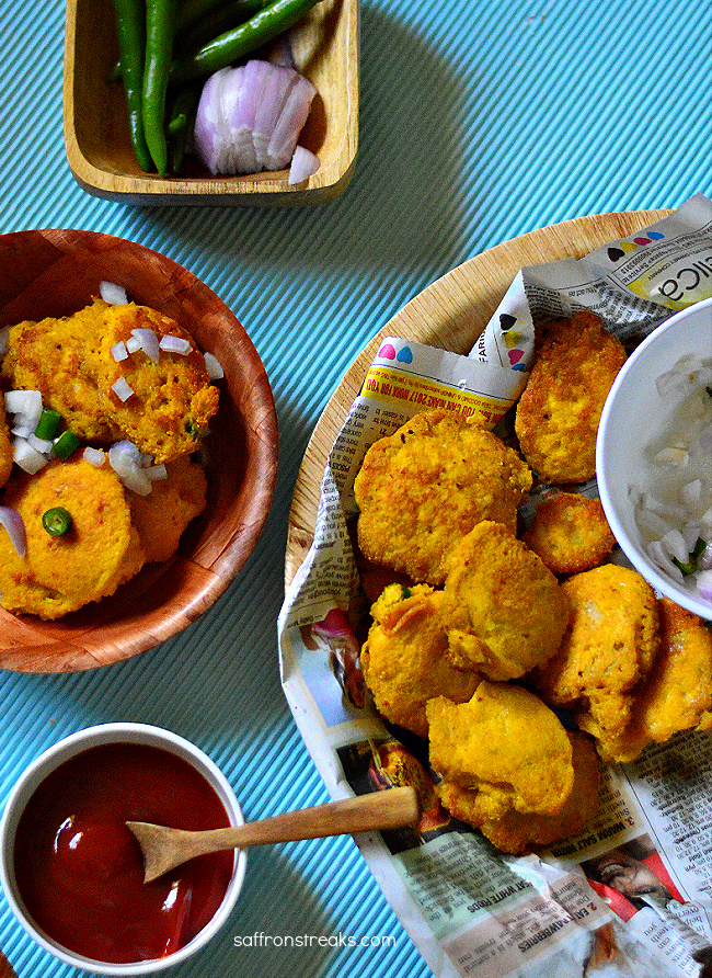 fish roe fritters