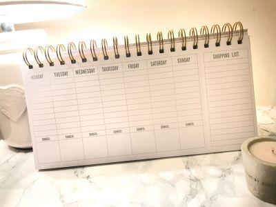 next weekly planner saffy dixon