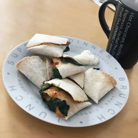 Cheesey gluten free and dairy free wraps