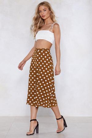 Spot On Polka Dot Skirt