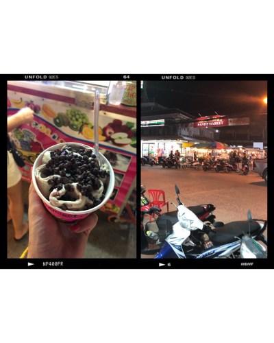 food market koh pha-ngan