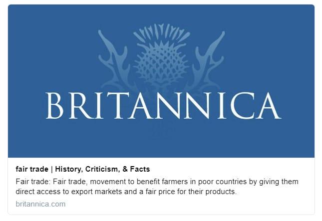 Britannica Fair Trade
