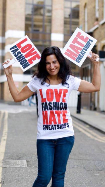 Safia Minney Fair Trade Day Love Fashion Hate Sweatshops