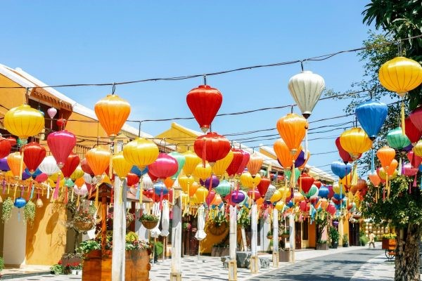 How to decorate your space with silk lanterns street bamboo