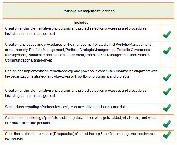 saf international portfolio management services