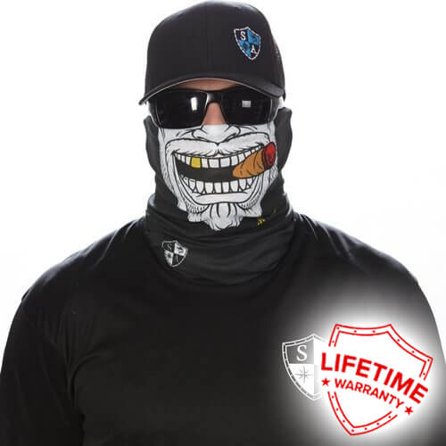 Check out The Gangster Face Shield