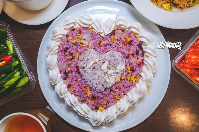 炒飯超人漢口店 | 台中北區美食 超特別!是蛋糕也是炒飯的心心相映 蛋糕炒飯