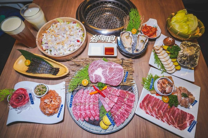 雲火日式燒肉 | 台中燒肉餐廳 聖誕套餐居然吃得到和牛、伊比利豬跟牛舌 12/17-12/29搶購中