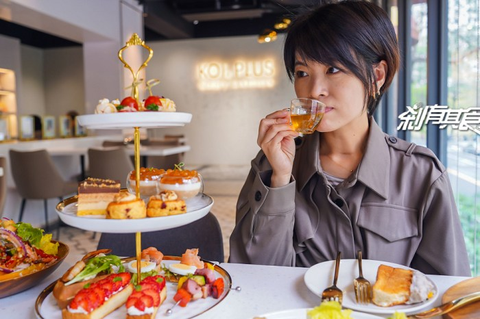 KOI PLUS | 台中甜點下午茶 《她們創業的那些鳥事、未來媽媽》偶像劇取景地 伊甸園紅蘋果、香蘋城堡三明治