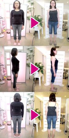 体重62.1kg→53.2kg 体脂肪42.5%→29.1%