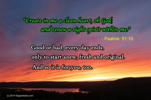Each Day Anew