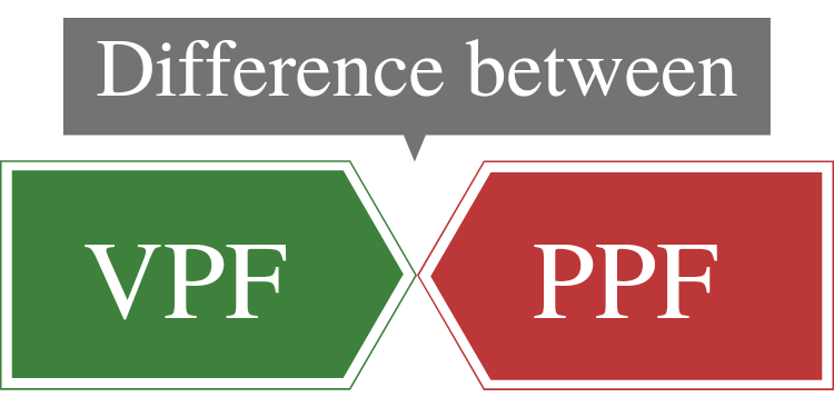 Difference between vpf vs ppf
