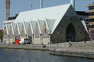 """The """"fish church"""" in Gothenburg"""