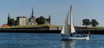 SAGA med Ravelinen og Kronborg i baggrunden