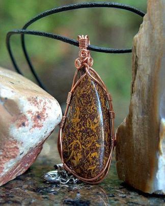 Australian origin, Script stone pendant jewelry
