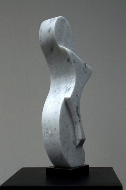 Marble sculpture, original abstract, modern art