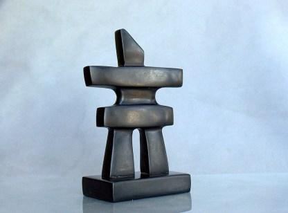 polished stone figurine