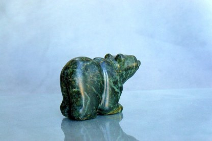 green baby bear