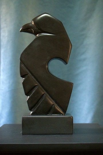 Raven abstract sculpture