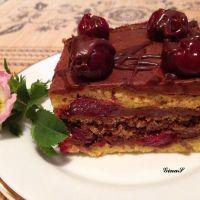 Prajitura Reform cu visine si ciocolata