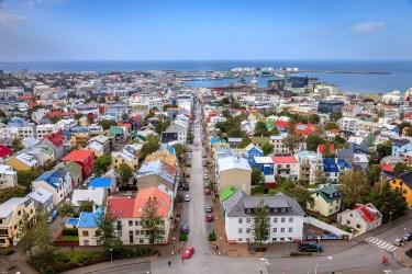 View from Hallgrímskirkja