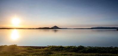 Lake Mývatn Sunset