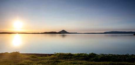 Lake Mývatn Sunset