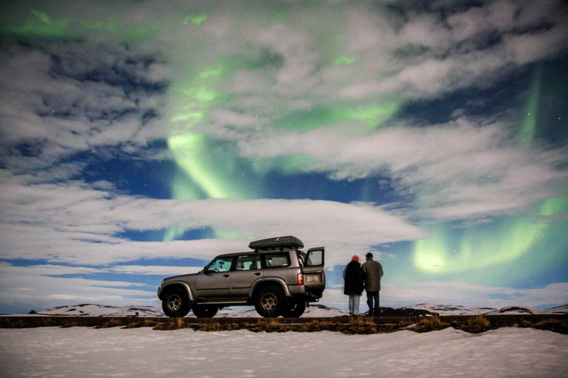 The best places to witness the Northern Lights are sometimes out of reach for normal vehicles, thus Super Jeeps