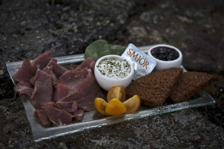 Traditional Icelandic delicacies