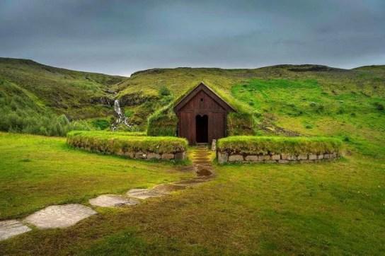 Heritage site in Þjórsárdalur