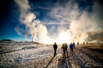Hverir by Mt Namafjall via Lake Myvatn Classic Day Tour from Akureyri