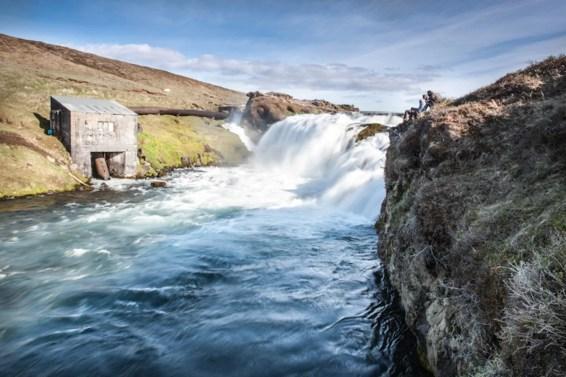 Ullarfoss Waterfall