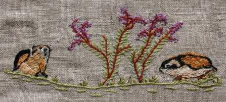 Fjälllämlar Fjällämmel (Lemmus lemmus) är lätt att känna igen på sin brokiga färg i gult, svart och rostbrunt. Den blir upp till 15 cm lång. Normalt sett finns fjällämmeln endast i fjällregionen. Den äter alla slags växter som finns tillgängliga i markskiktet.