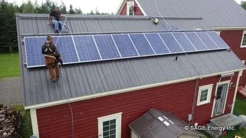 gridtied-solar-installation